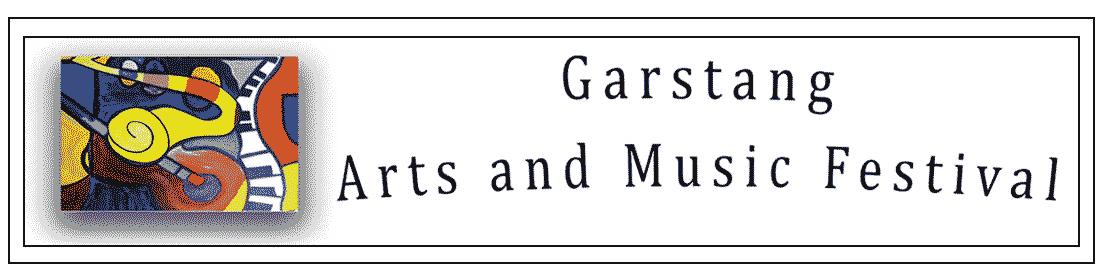 Logo for Garstang Arts and Music Festival
